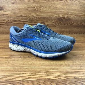 Brooks Ghost 11 Blue Athletic Road Running Shoes